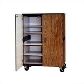 2600 Series Mobile Cabinet with Five Adjustable Shelves