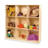 Early Childhood 9 Compartment Mobile Storage Unit
