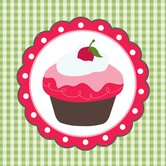 Cherry Cake Canvas Art