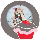 Strawberry Cake Wooden Picture Frame