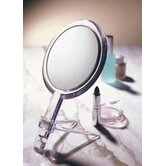 10x/1x Handheld 2-Sided Mirror with Stand
