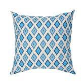 Chevron Ikat Pillow