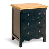 Painted Provence 4 Drawer Chest