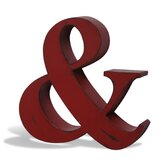 "Industrial  Living ""Ampersand"" Wall Art"