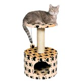 Toledo Paw Print Cat Condo