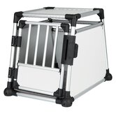 Scratch-Resistant Metallic Crate