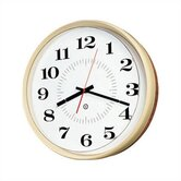 14&quot; Diameter Quartz Wall Clock with Housing