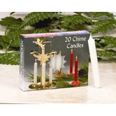 Chime Candles (Set of 10 Boxes of 20 Candles Each)
