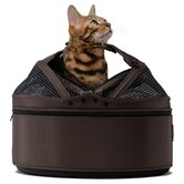 Mobile Pet Bed/Carrier in Dark Chocolate