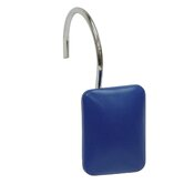 Bathroom Sets Rectangular Shower Curtain Hook in Dark Blue