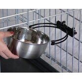Crate Clip Dog Bowl