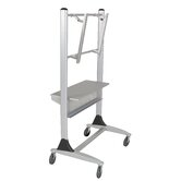 "Platinum 35"" Flat Panel LCD Cart"