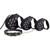 Bling Bonz Flexi Classic Dog Lead