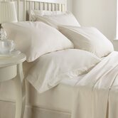 Luxury Bedding 400 Thread Count Housewife Embroidered Pillowcase