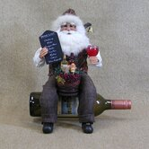 Crakewood Santa Claus Tabletop Wine Rack