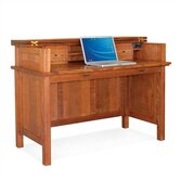 "Craftsman Home Office 50.5"" W Lift Top Laptop / Writing Desk"