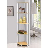 Turn 'n' Tube 5 Tier Corner Display Rack Shelving Unit
