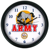 Deluxe Chiming US Army Wall Clock