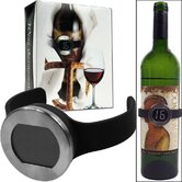 Wine Bottle Thermometer with Digital Display