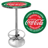 Coca Cola Pub Table in Red and Green