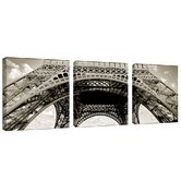 Tour de Eifel by Preston 3 Piece Photographic Print Set