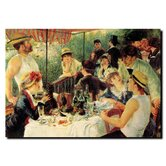"Luncheon of the Boating Party by Vincent Renoir, Canvas Art - 14"" x 19"""