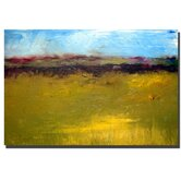 "Abstract Landscape The Highways Series by Michelle Calkins, Canvas Art - 16"" x 24"""