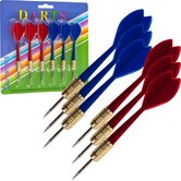 TGT Dart in Red and Blue (Set of 6)