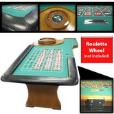 "94"" Roulette Table With Padded Armrest"