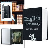 Mini Dictionary Diversion Book Safe with Key Lock
