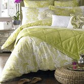 Persian Quilt Cover in Lime