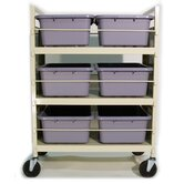 Metal Frame Bin Cart