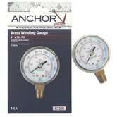 Replacement Gauges - 2-1/2x200 brass replacement gauge