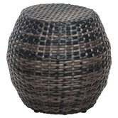 dCOR design Patio Ottomans