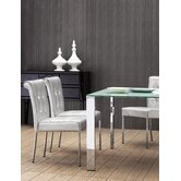 Fox Trot Dining Chair in Silver