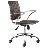 High-Back Criss Cross Office Chair