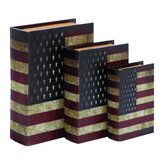 American Flag Theme Book Box