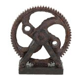 Industrial Style Décor Rusted Gear