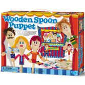 Wooden Spoon Puppet Theater