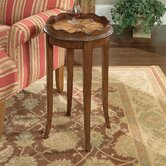 Plantation Cherry Scalloped End Table