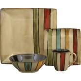 Vertigo 16 Piece Dinnerware Set