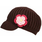 Hipster Hat with Flower