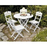 English Garden 5 Piece Dining Set