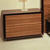 Murano 2 Drawer Nightstand