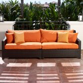 Tikka Patio Sofa with Cushions