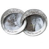 Wedding Melissa Double Rings Picture Frame