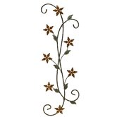 Katelyn Floral Scroll Wall Art