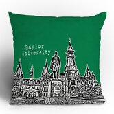 Bird Ave University Throw Pillow