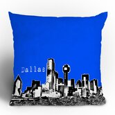 Bird Ave Dallas Throw Pillow