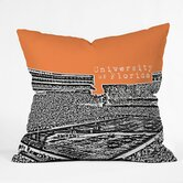 Bird Ave University of Florida Throw Pillow